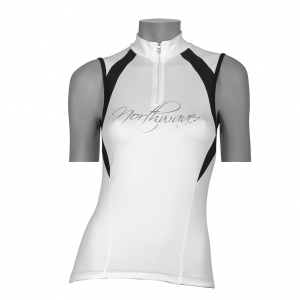 Веломайка - Northwave Devine Jersey White/black sleeves