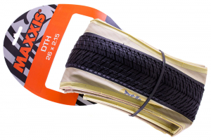Покрышка 26 - Maxxis DTH White Wall Folding