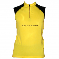Веломайка - NorthWave Force Jersey SL Yellow (уценка)